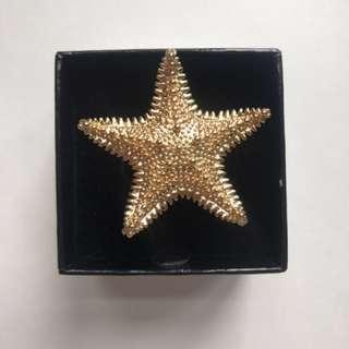 Kate spade starfish ring