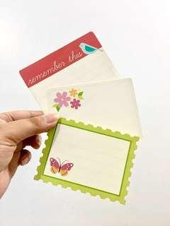 12 Echo Park Paper Journal Cards