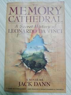 The Memory Cathedral: A Secret History of Leonardo Da Vinci by Jack Dann