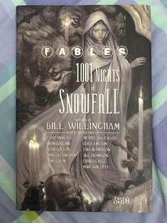 Fables 1001 Nights of Snowfall Comic