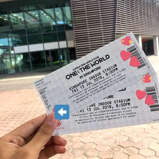 [SELLING] WANNA ONE WORLD TOUR IN SINGAPORE <CAT 4> 2 TICKETS at RM600 EACH