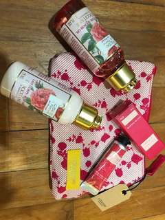 L'occitane Rose Travel Set