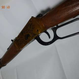 Vintage 1960 Daisy Pop Lever Action Rifle Toy