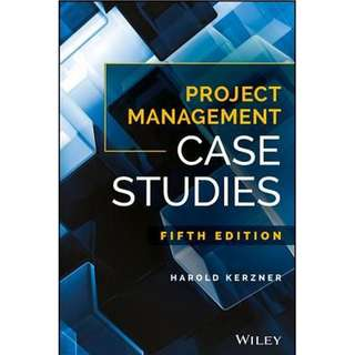 Project Management Case Studies 5th Edition