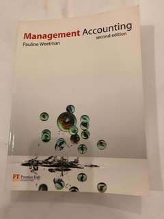 Management accounting second edition prentice hall