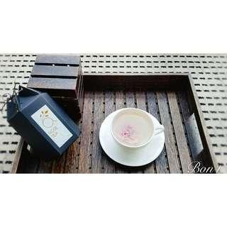 高品質烘焙玫瑰花茶 自家品牌Bon+ 含有玫瑰精油成分