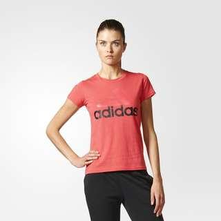 Adidas Women's Essential Linear Tee