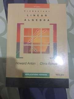 Elementary Linear Algebra - Howard Anton ORI