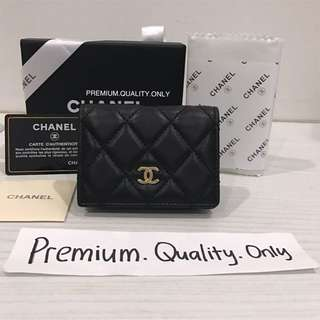 Customer's Order Chanel Card Case lamb skin