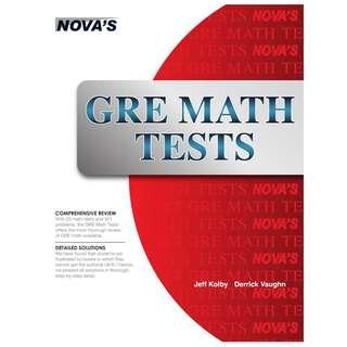 GRE Math Tests-Nova (2014) : ebook