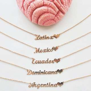 Customised 925 Name Necklace