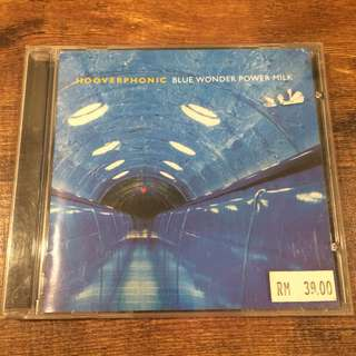 Hooverphonic - blue wonder power milk cd