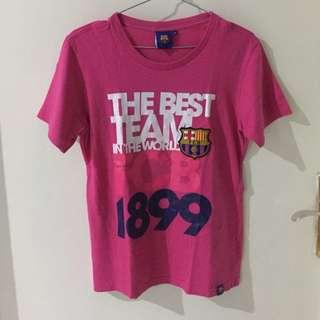 T-shirt Barca official FCB pink