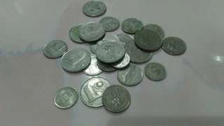 Old Coins Malaysian Ringgit
