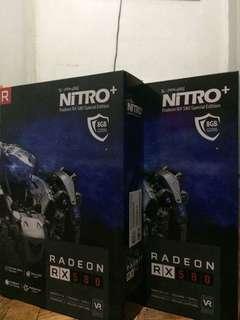 Sapphire Nitro+ Radeon RX580 Special Edition