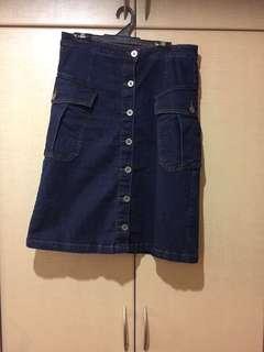 Size 10 NEXT denim skirt