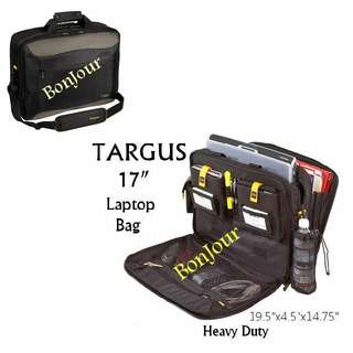 "Black Colour 17"" Targus Laptops Casing Bag Sellzabo Pc"