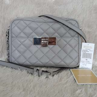 SALE! Auth Michael kors Quilted Crossbody sling bag coach kate spade