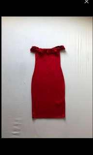 Zara Off-Shoulder Dress