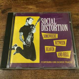 Social distortion - somewhere between heaven n hell
