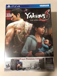 PS4 - Yakuza 6: The Song of Life After Hours Premium Edition