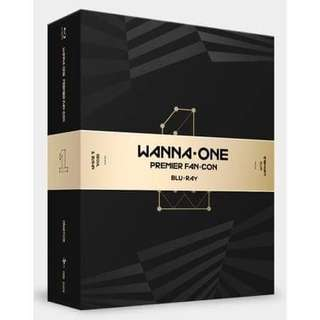 Wanna One Blu-Ray - Premier Fan-Con 2 Disc