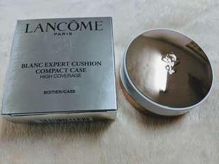 🚚 Lancome 蘭蔻 激光煥白輕感氣墊粉盒 時尚金。氣墊粉盒