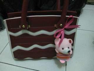 Hand bag + Boneka
