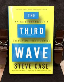 # Highly Recommended《Bran-New +2016 Hardcover + Future Map For Leadership, Startup, Entrepreneurship and Business Innovation》Steve Case - THE THIRD WAVE : An Entrepreneur's Vision of the Future