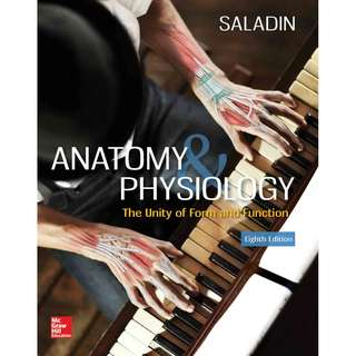 Anatomy and Physiology 8th Edition