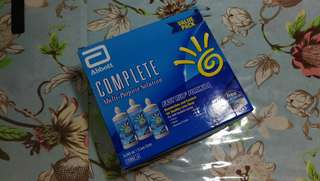 Complete Solution for contact lens