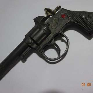 Toy Cast Iron Cap Gun