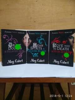 Meg Cabot - Mediator Series (x3)
