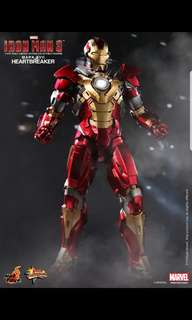Hot Toys : Iron Man 3 - Mark XVII - Heartbreaker