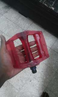 Pedal bicycle red colour