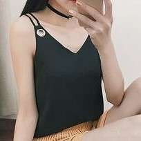 INSTOCKS Black Cami Top