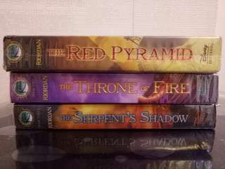 Kane Chronicles (as a set)