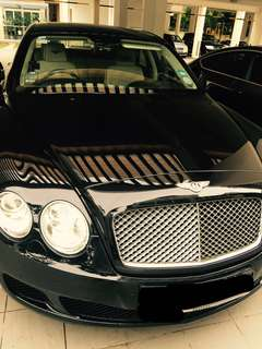 Business or wedding car for rent - Bentley