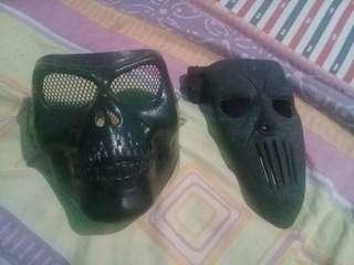 Topeng Mickthopson + Black skull