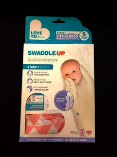 Love to dream Swaddle - Stage 1, Size S, 3-6kgs. Lite Bamboo 0.2tog