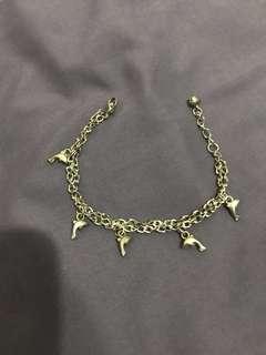 (包郵)海豚🐬雙層手鏈16-19cm