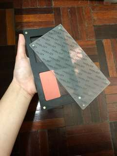 INGLOT palette with 1 blush