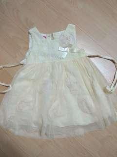 Baby Yellow Dress