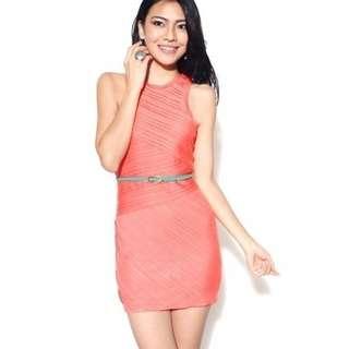 LB Oregon Dress in Coral (Size M)