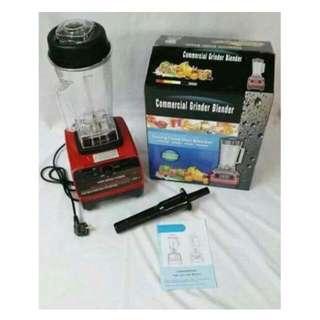 Commercial Grinder Blender 2L Commercial 3HP Blender Mixer HEAVY DUTY Ice Crusher 2200W