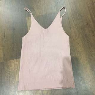 Pink Mauve Knitted Top