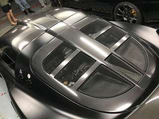 Carbon wrapping