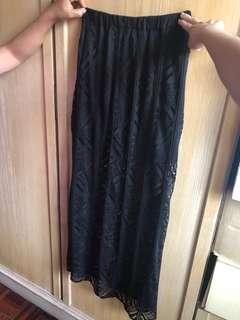 H&M Aztec printed skirt