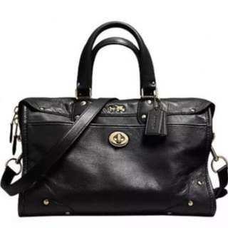 Coach Rhyder Satchel Genuine Leather Bag (NEW)