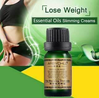 Thin Leg, Waist Fat Burning Natural Safety Weight Loss Essential Oil